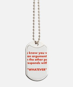 whatever Dog Tags