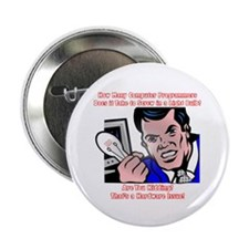 """How Many Programmers 2.25"""" Button (10 pack)"""