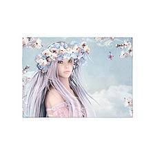 Fairytale Girl 5'x7'area Rug