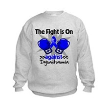 Fight is On Dysautonomia Sweatshirt