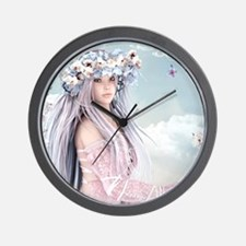 Fairytale Girl Wall Clock
