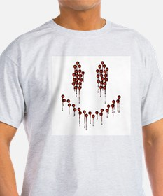 Bloody Smiley Face T-Shirt