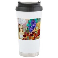 Pretty Chef Art Travel Mug
