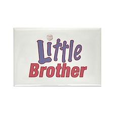 Little Brother (Baseball) Rectangle Magnet