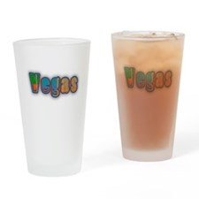 Vegas Drinking Glass
