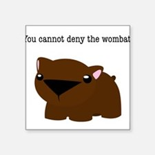 Wombat Sticker