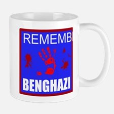 Remember Benghazi RWB Mug