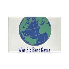 World's Best Eema Rectangle Magnet (100 pack)
