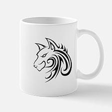 Wolf Tattoo Tribal Mugs