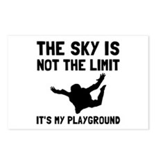 Skydive Playground Postcards (Package of 8)