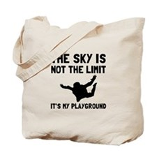 Skydive Playground Tote Bag