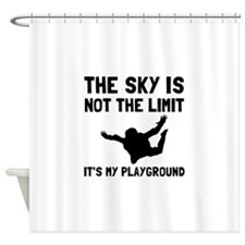 Skydive Playground Shower Curtain