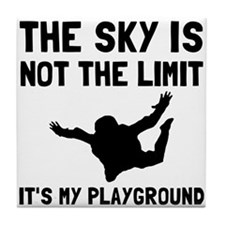 Skydive Playground Tile Coaster