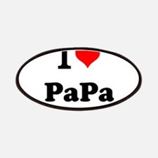 I Love PaPa Patches