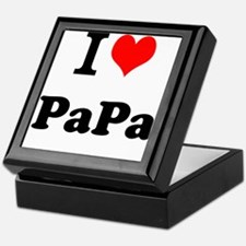 I Love PaPa Keepsake Box