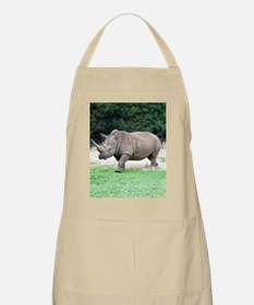 Rhinoceros with Huge Horn Apron