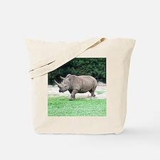 Rhinoceros with Huge Horn Tote Bag