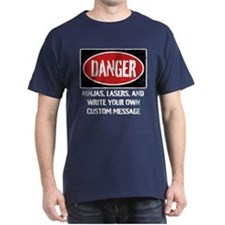 Personalized Danger Sign T-Shirt