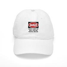 Personalized Danger Sign Baseball Cap