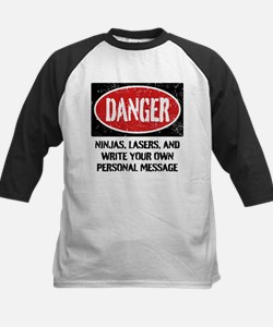 Personalized Danger Sign Tee