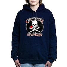 Captain Grandma Hooded Sweatshirt