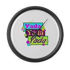 Yada, Yada, Yada/ Large Wall Clock