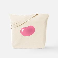 bigger jellybean pink Tote Bag