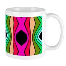 Funky Retro Pattern Mugs