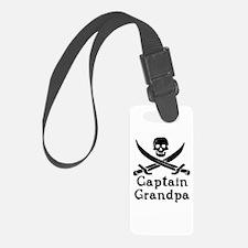 Captain Grandpa Luggage Tag