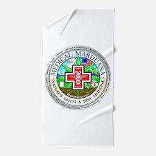 Medical Marijuana Beach Towel