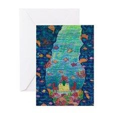Girdners Grotto Fish Bliss Greeting Cards
