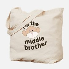 middle brother monkey Tote Bag