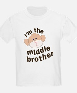 middle brother monkey T-Shirt