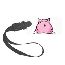 Frankie Pig Luggage Tag