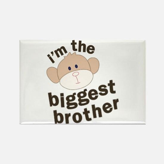 big brother monkey Rectangle Magnet
