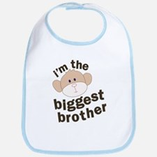 big brother monkey Bib