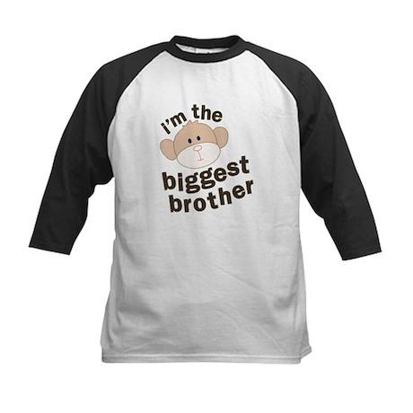 big brother monkey Kids Baseball Jersey