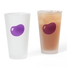 bigger jellybean purple Drinking Glass