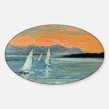Sunset sailing Decal