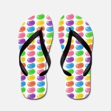 bigger jellybean orange Flip Flops