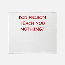 ex convict Throw Blanket