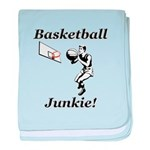 Basketball Junkie baby blanket