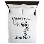 Basketball Junkie Queen Duvet