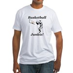 Basketball Junkie Fitted T-Shirt