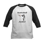 Basketball Junkie Kids Baseball Jersey