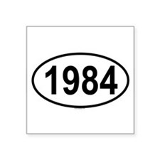 1984 Oval Sticker