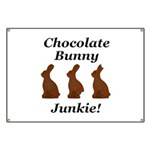 Chocolate Bunny Junkie Banner