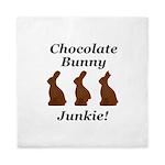 Chocolate Bunny Junkie Queen Duvet