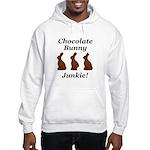 Chocolate Bunny Junkie Hooded Sweatshirt