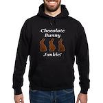 Chocolate Bunny Junkie Hoodie (dark)